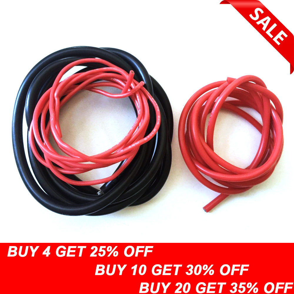 UL Red Pacer 1//0 AWG Boat//Marine Cable 3.5 FT Boat//Marine