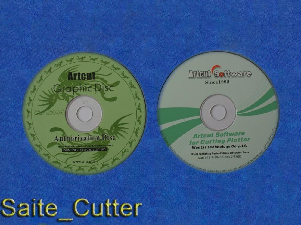 Artcut graphic disc authorization disc