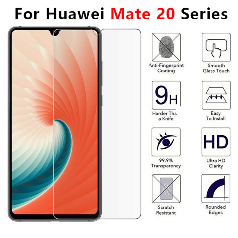 Protective Glass For Huawei Mate 20 Lite X Tempered Glas Screen Protector On Huawey Mate20 20lite 20x Made Matte Protect Film 9h
