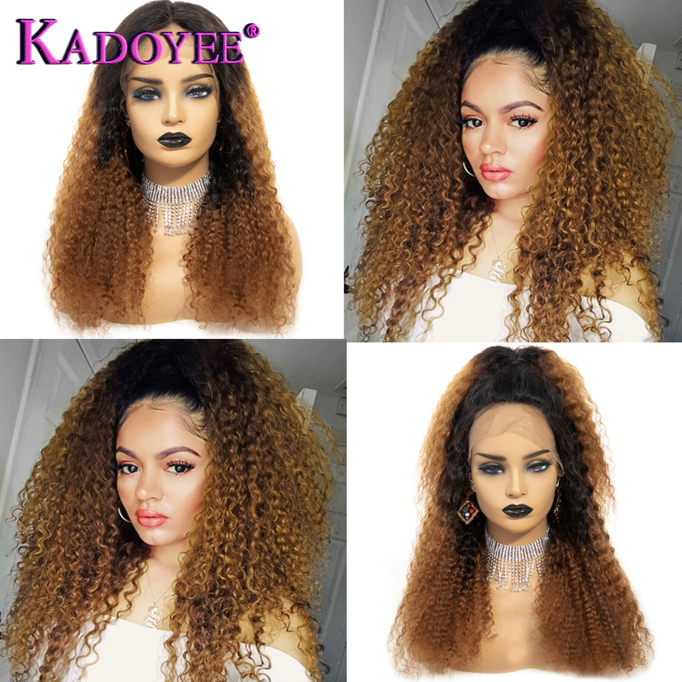 lace front kinky curly wigs  (3)