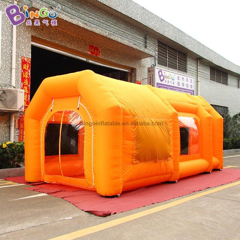 Hot venda cabine de pintura cabine de pintura cabine de pintura carro inflável barraca inflável inflável portátil para carro brinquedos da barraca