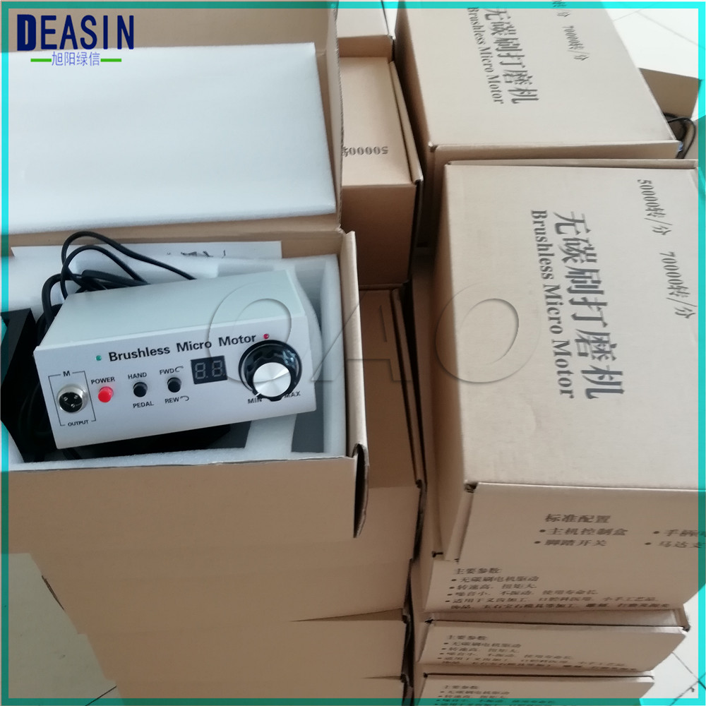 Dental polishing machine Brushless Micromotor Controller 50,000 RPM