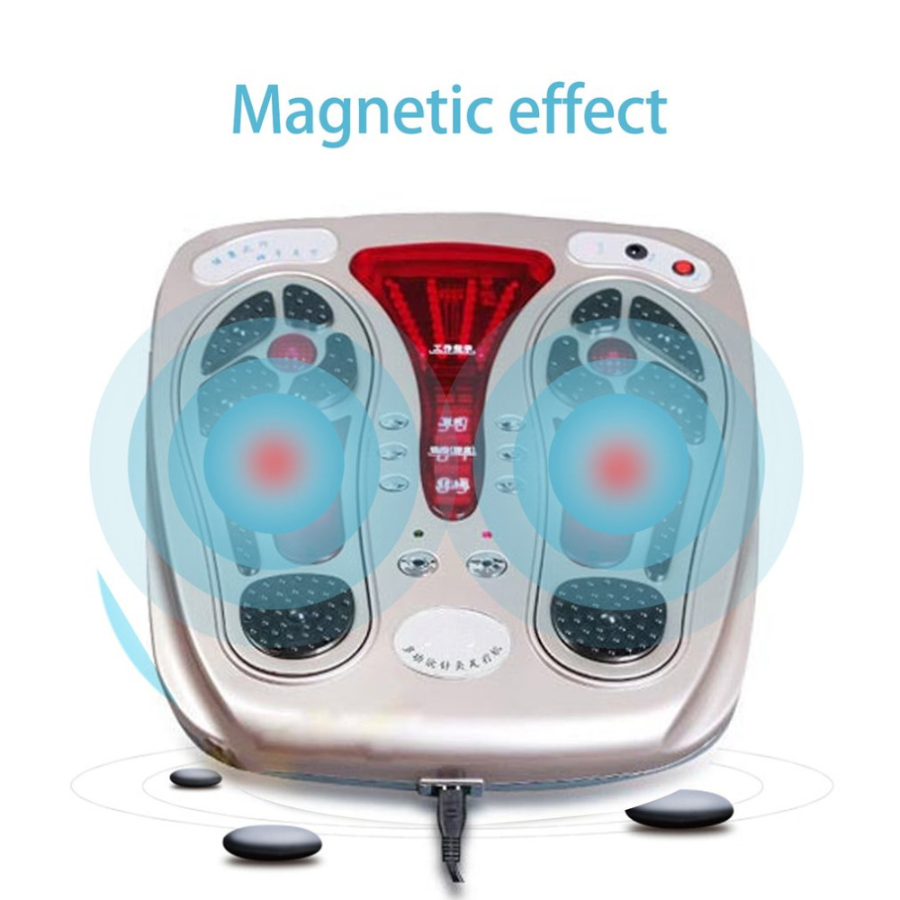 Multifunctional Body Health Care Foot Massaging Device Electromagnetic Infrared Wave Pulse Foot Massager Circulation Booster концентрат health