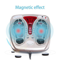 Multifunctional Body Health Care Foot Massaging Device Electromagnetic Infrared Wave Pulse Foot Massager Circulation Booster