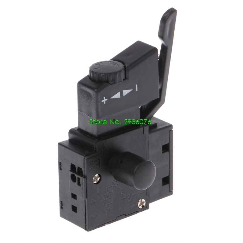 Lighting Accessories Kind-Hearted Electric Drill Dustproof Speed Control Push Button Trigger Switch Dc 7.2-24v Switches