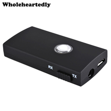 Hot 2-In-1 Wireless Bluetooth Transmitter TX Bluetooth Receiver RX Audio Music Receiver 3.5mm Jack for Speaker Headphone TV PC