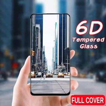 Перейти на Алиэкспресс и купить 6D защитное стекло K20 для Xiaomi Redmi K20 Pro закаленное стекло Redmi Note 7 защитная пленка для экрана для Xiaomi Redmi 6A 6 7 Pro