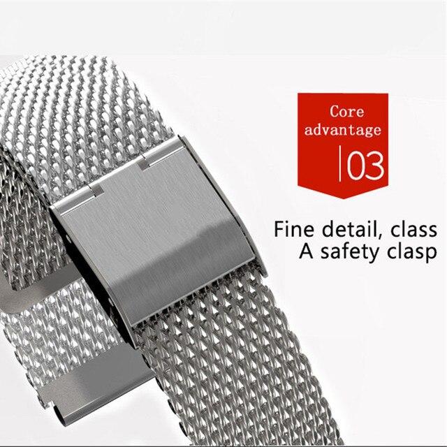 Mi band 6 3 4 5 Strap Metal for Xiaomi Mi Band 5 4 3 Bracelet Screwless Xiaomi Mi Band 4 Bracelet Correa Xiomi MiBand Wrist Band 3