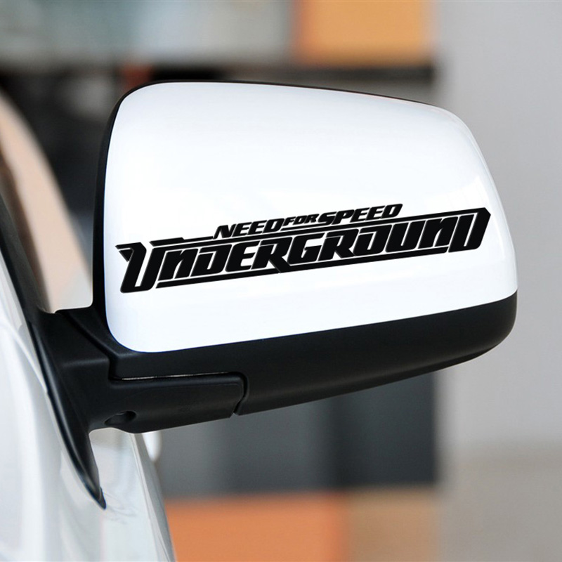 NEED FOR SPEED  design car rear view mirror sticker,reflective decals and labels,automobile vinyl cover glue sticker hot sale 1pc longhorn hilux 900mm graphic vinyl sticker for toyota hilux decals badges detailing sticker car styling accessories