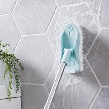 Щетка для чистки с длинной ручкой щетина для мытья пола ванной комнаты Аксессуары для ванной плитки Высокое качество бытовой инструмент