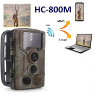 Photo Traps Wild Camera Chasse Hunting Camera MMS GSM SMS HD 1080P Night Vision Scout guard Wildlife Camera monitor tiger