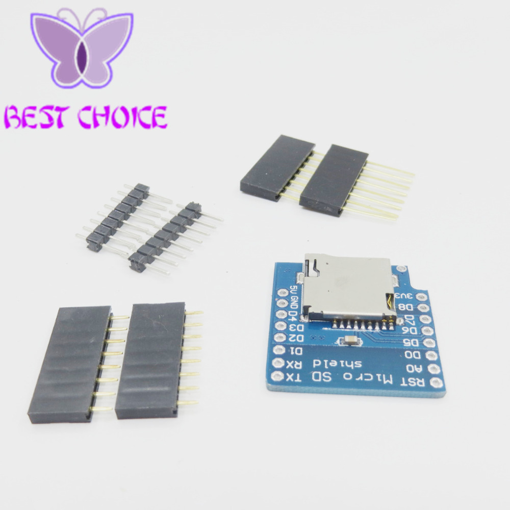 Micro SD Shield For WeMos D1 mini TF ESP8266 Arduino US