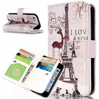 For Cover IPhone 5 5S Cover IPhone 5C Coque Fundas 9 Card Holders Wallet Case For