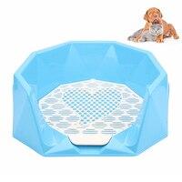 Petacc Sleek Diamond Shape Design High Quality Dog Potty Practical Cat Indoor Toilet Pet Training Toilet