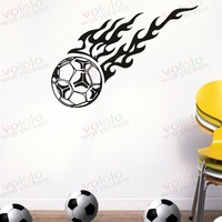 Free shipping Wall Stickers Wholesale and retail Wall decor PVC material decals wallpaper football star World Cup Z-201