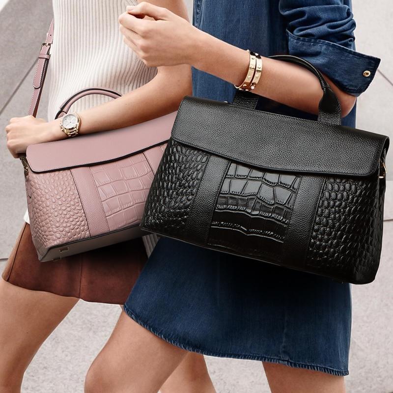 TOP Guarrenteened 100% en cuir femmes sacs marque de mode sac à main véritable sac en cuir ZOOLER sacs à bandoulière bolsa feminina #5039