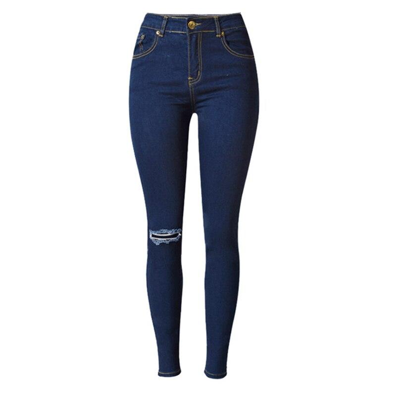 2016 Feminina Pencil Jeans Body Slim Sexy Elegant American Style Boyfriend Jeans Women Wholesale Robin Jeans Denim Cheap S1553