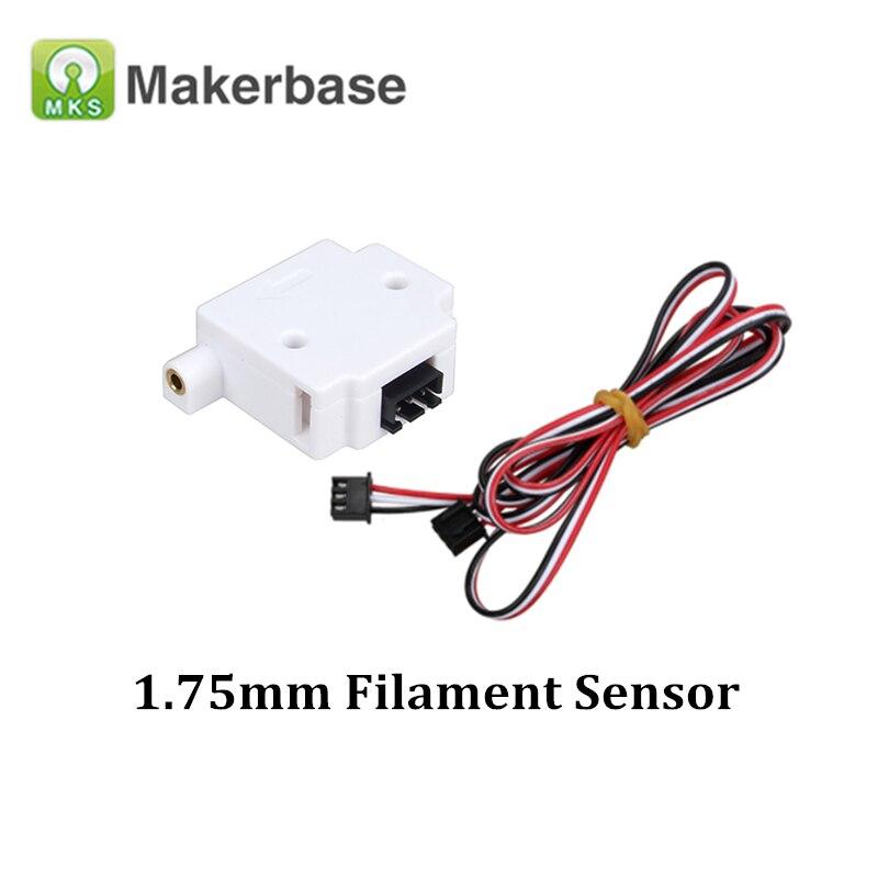 3D Printer Parts MKS Filament Sensor Module For 1.75mm Filament Detector Switch Mechanical Endstop For Anet A8 A6