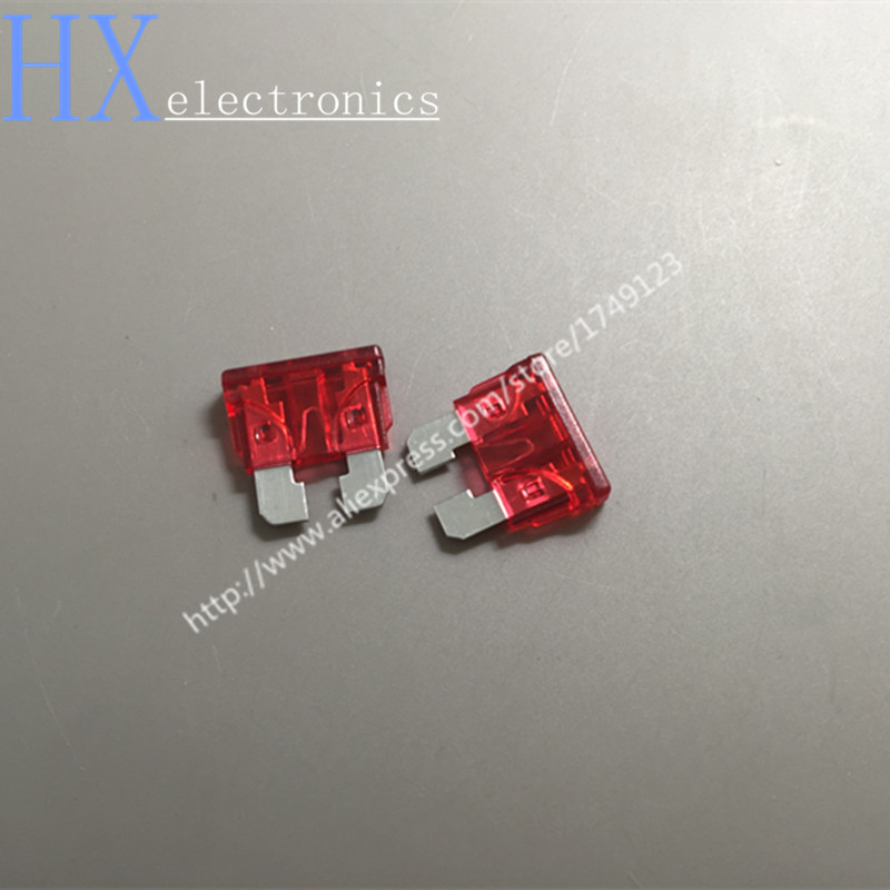 Free shipping 100PCS/LOT Auto Automotive Car Boat Truck Blade Fuse 10A Standard Middle Fuse free shipping 100pcs lot pt2262s pt2262 sop20