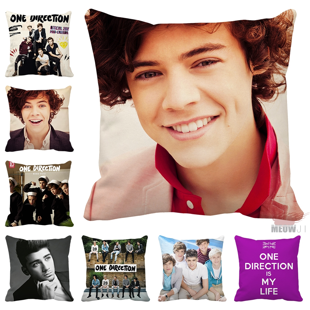One Direction Multi Size Throw Pillow Case Free Shipping