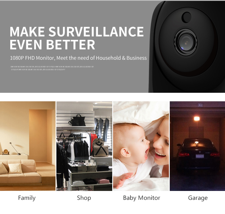 Vstarcam C29S 1080P Full HD Wireless IP Camera CCTV WiFi Home Surveillance Security Camera System Indoor PTZ Camera baby monitor 9