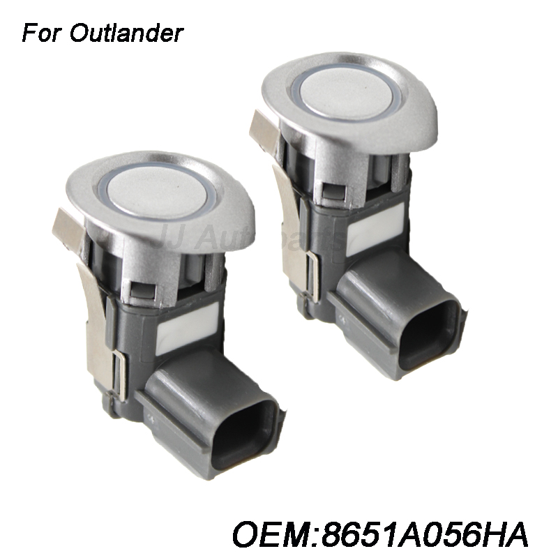 2PCS NEW Car Parking Sensor For Mitsubishi Pajero Montero Outlander Grandis Sport 8651A056 8651A056HA Auto Sensor