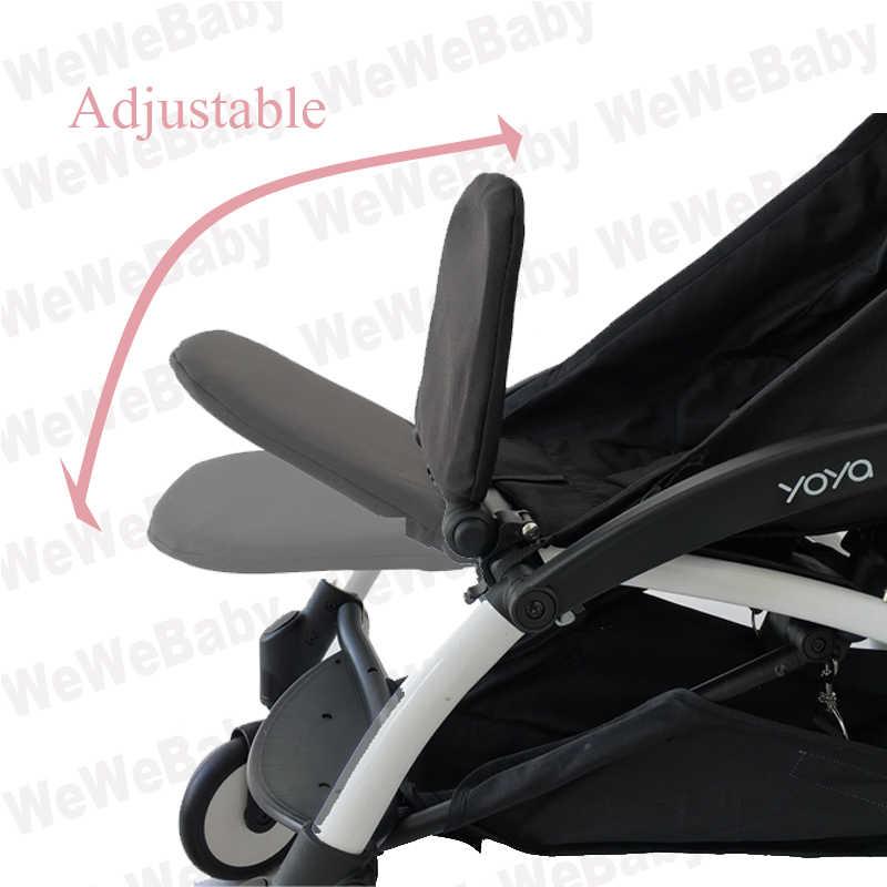 Akcesoria dla wózków dziecięcych podnóżek podłokietnik parasolka dla babyzen YoYo garnitur podnóżek parasol słoneczny poręcz do wózka dla dziecka markiza yoya