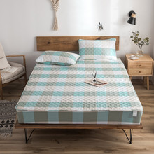 Bed mattress Cotton quilted bed cover Thick non-slip all-inclusive Hotel bedspread customize Plaid flower sheet