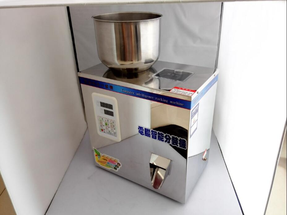 Granular Material Version 2-120g Automatic Food Weighing Packing Machine Granular Tea Hardware Nut Materials Filling Machine