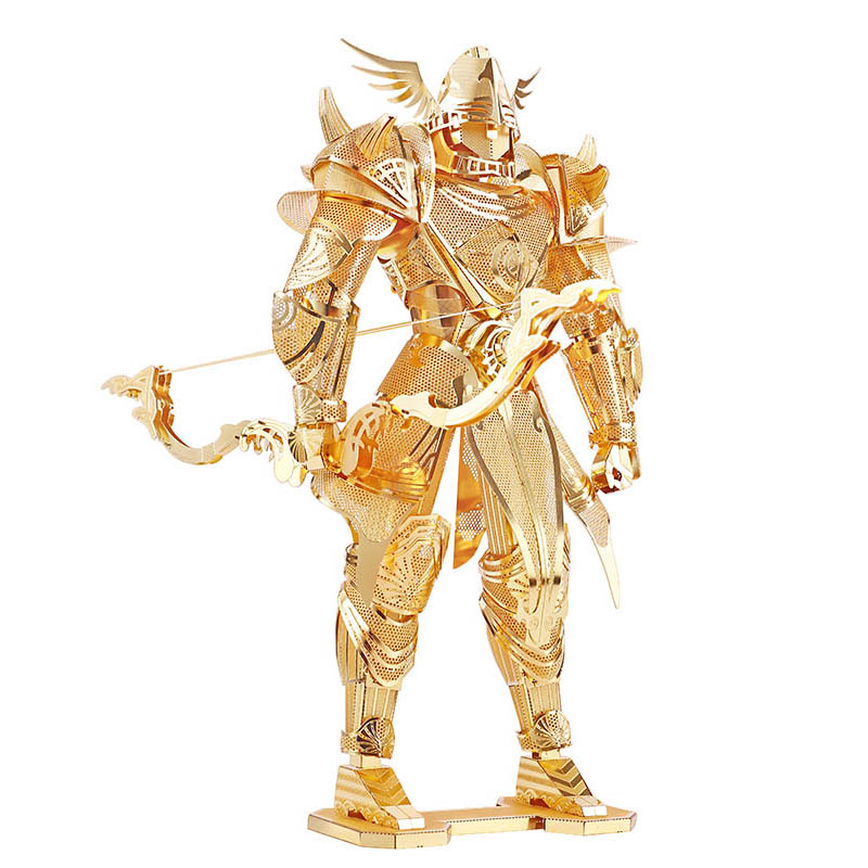 Piececool Knight Of Firmament Knight 3D Metal Puzzle DIY Assemble Model Building Kits Laser Cut Jigsaw Toys P072-G