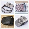 Ningún cuerpo de Metal hebilla cinturón de lona táctico Conveniente para la anchura de 3.8 CM de Espesor de 4 MM de Diseño de moda de alta calidad marca
