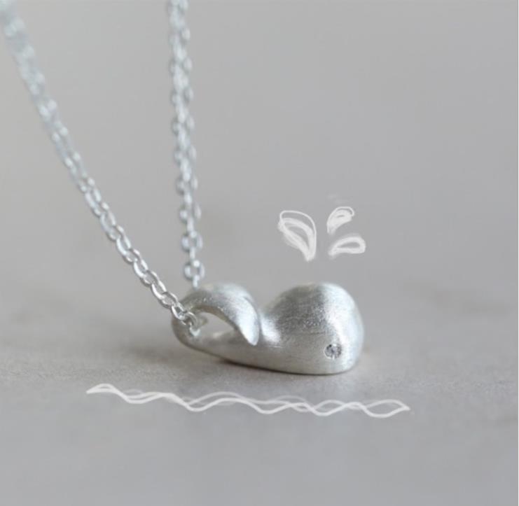 ZTUNG GUP10 women fine jewery 925 silver a lovely animal shape necklace a present for your
