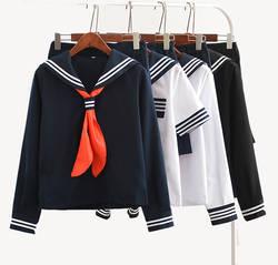 Японского аниме Jigoku Shojo косплэй костюм Hell Girl Enma Ai JK ученическая школьная форма Костюм Моряка
