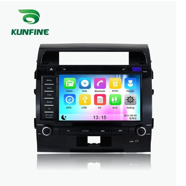 WINCE 6.0 MTK MT3360 Car DVD GPS Navigation Player Car Stereo for Toyota Land Cruiser 200 2008-2012 Radio 3G Wifi Bluetooth