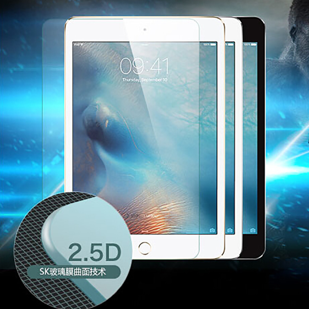 2016 Top Quaity Explosion Proof Toughened glass membrane Anti shatter screen protector For iPad mini