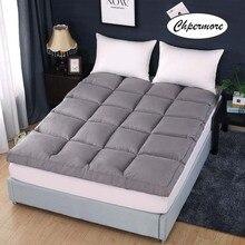 Chpermore高品質5スターホテルマットレス厚み畳折りたたみマットレスベッドカバーキング女王ツインサイズ
