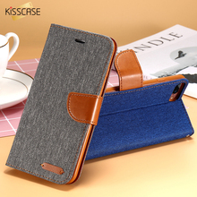KISSCASE Book Flip Case For iPhone 5S SE 5G iPhone 7 8 6S Plus Cases Card Slot Wallet Holster Leather Cover For iPhone X 5S Case