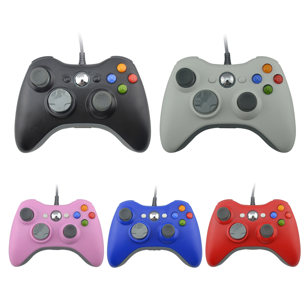 Wired PC controller for xbox360 Gamepad USB Game Controller for PC Joystick for Xbox 360