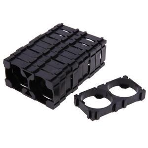 Image 5 - 10Pcs 26650 2x Lithium Battery Triple Holder Bracket For Diy Battery Pack High Quality Battery Holder