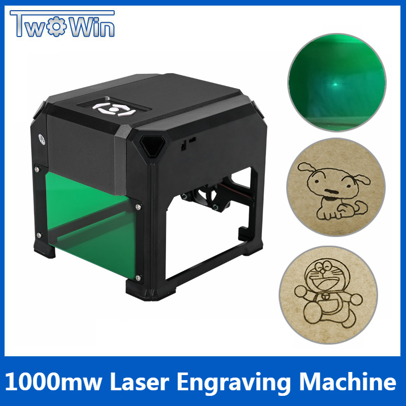 1000mw Automatic K3 Type High Speed Laser Engraving Machine USB DIY Carving Handicraft Wood Engraver 1000mw high speed mini laser cutter usb laser engraver cnc router automatic diy engraving machine off line operation glasses