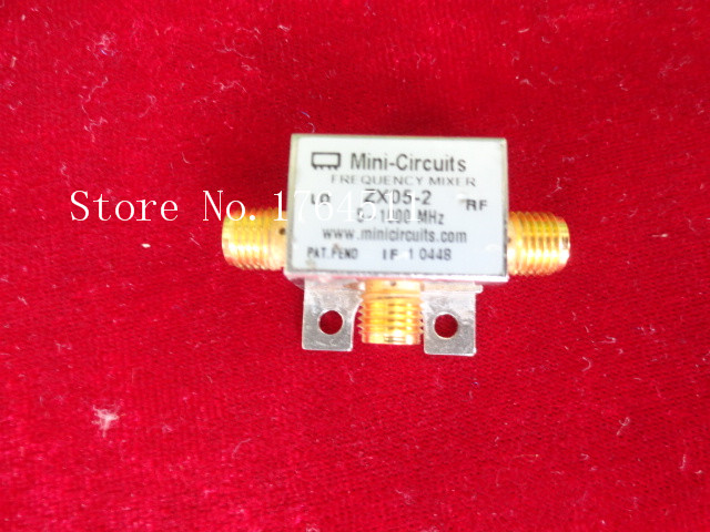 [BELLA] Mini ZX05-2-S RF/LO:5-1000MHz RF Coaxial Double Balanced Mixer  --2PCS/LOT
