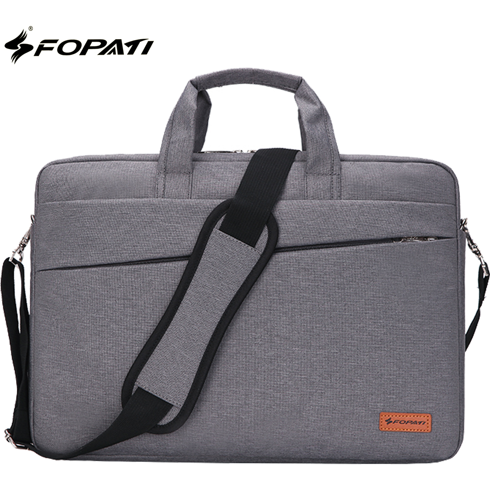 FOPATI Laptop Shoulder Bag 11.6 13.3 15.6 inch Notebook Sleeve Carry Case for MacBook Pro Air 11 12 13 14 15 ASUS Acer Lenovo