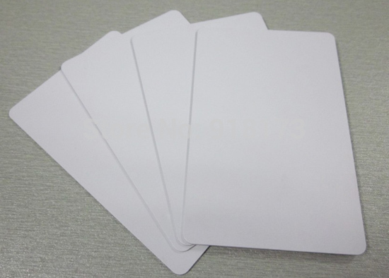 100pcs/lot Inkjet Printable blank PVC card for Epson printer, for Canon printer deha