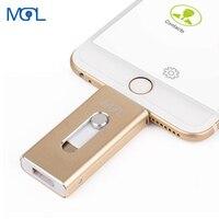아이폰 X/8/7/7 플러스/6/6s/5 ipad 금속 펜 드라이브 HD 메모리 스틱 8G 16G 32G 64G 128GFlash 드라이버에 대 한 OTG USB 플래시 드라이브