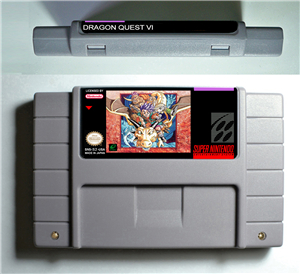 Dragon Quest VI 6 - RPG Game Battery Save US Version image