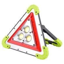 LED كشاف ضوء 20 W Worklight متعددة الوظائف الصمام COB رقاقة الكاشف الضوء في الهواء الطلق الإضاءة USB قابلة للشحن تحذير ضوء