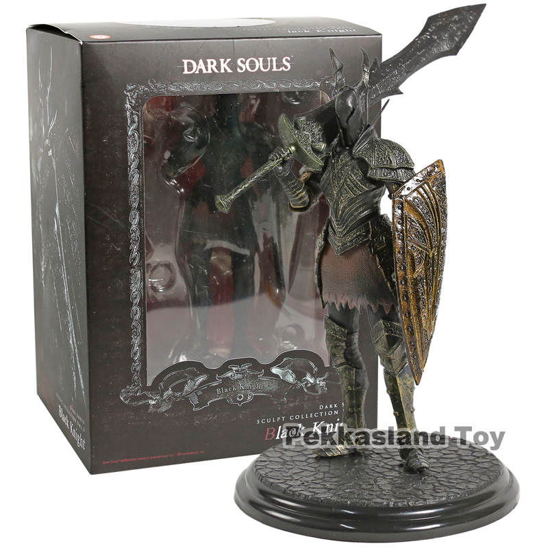 Dark Souls Sculpt Collection Vol.3 Black Knight PVC Figure Collectible Model Toy