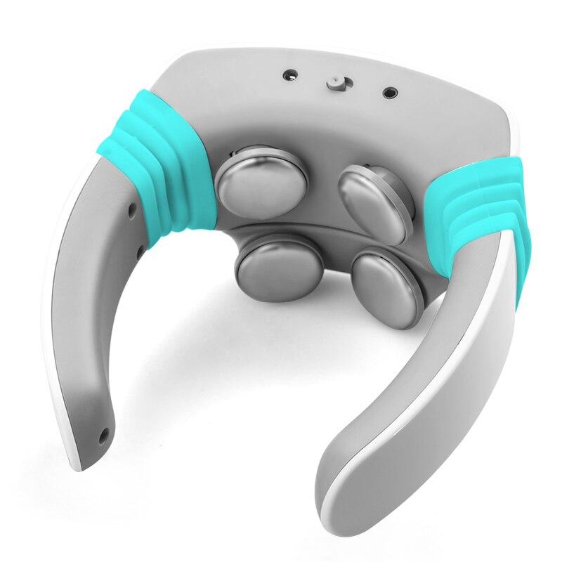 Электрический пульс Акупунктура средства ухода за кожей шеи массажер здоровье и гигиена шейки терапии инструмент заряд патч массаж беспр