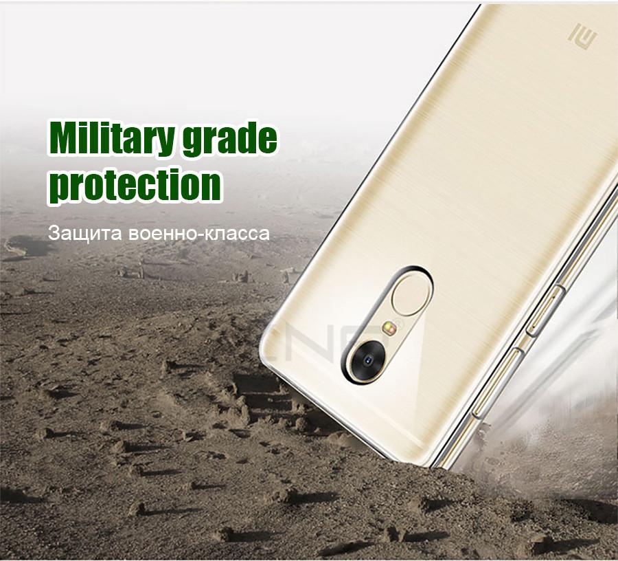 знп ультра тонкий мягкий прозрачный чехол для xiaomi редми Примечание 4 4х про силиконовый чехол для редми 4х4 про 4а телефон сумка