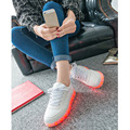 Size30-45 Good Quality LED Shoes with Light Up Luminous Glowing Sneakers with Light Soles Kids Children Shoes Flash LED Slippers
